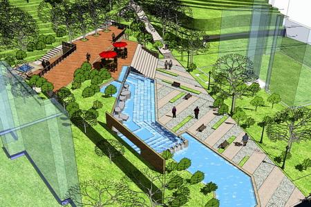 小泉别墅景观设计-园林景观篇-案例经典-重庆园林景观