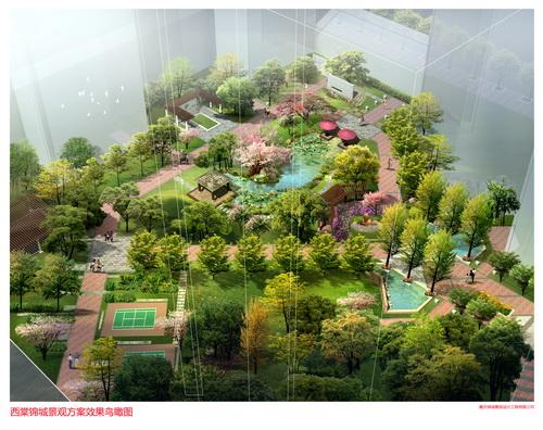 大足・西棠锦城景观设计方案
